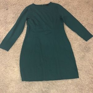 J.Crew Storm Ponte Knit Dress Size M